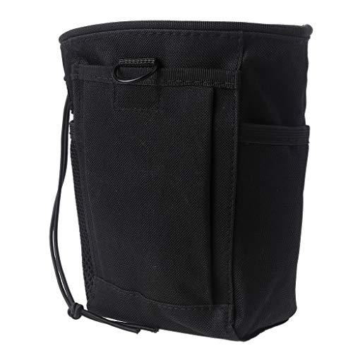 Grbewbonx Tasche für Metalldetektor, Taillenbagger, große Tasche für Bagger-Werkzeuge, aus strapazierfähigem Nylon, Premium-Qualität, für Rechtshänder, mit Pinpointer-Schlaufe