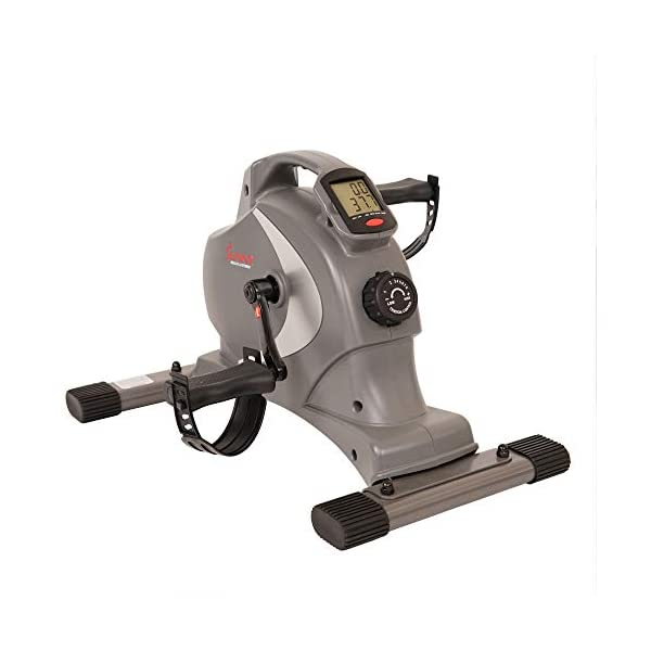 Fitness Equipment Shopping Sunny Health & Fitness SF-B0418 Magnetic Mini Exercise Bike with Digital Monitor