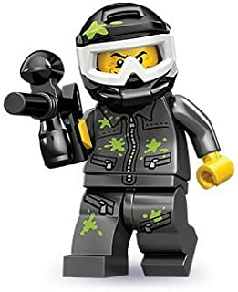 Lego 71001 Series 10 Paintball Player Opened