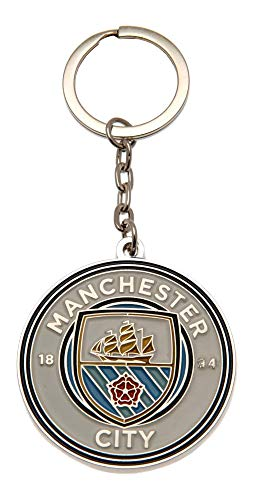Man City Crest Keyring - One Size