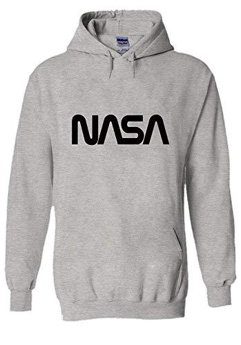 asegybbb NASA National Space Galaxy Novelty Black Men Unisex Hooded Sweatshirt Hoodie