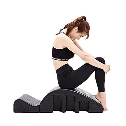 YF-SURINA Equipo deportivo Masaje Cama Corrector de la columna vertebral Yoga Pilates Entrenamiento Cama Columna vertebral Corrección ortopédica del cuello Yoga Espuma Corrección de la escoliosis Cue