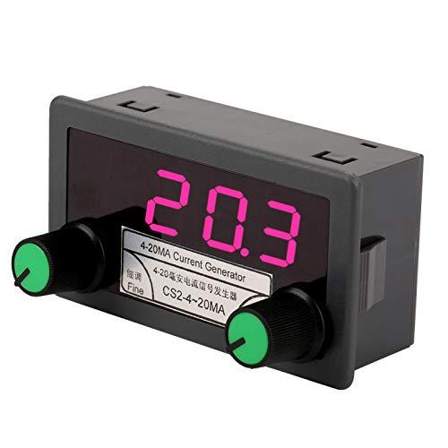 1Pc Stromsignalgenerator mit hoher Helligkeit 4-20mA SPS-Panel-Einstellung DC 7-30V Analoger Signalgenerator für die Wechselrichtersteuerung
