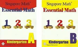 singapore kindergarten math