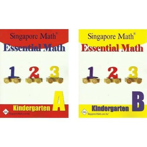 Essential Math Kindergarten SET--Books A and B