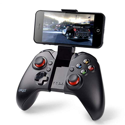 Draadloze Bluetooth draadloze klassieke gamepad game controller (met muisfunctie) voor Samsung HTC Moto Addroid TV Box Tablet Bluetooth Wireless Controller Android Gamepad, USB PC Gaming Controller de draad