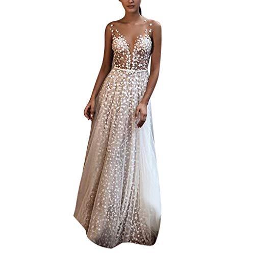 Vestidos para Mujer,Elegante Vestido de Novia de Encaje Vestidos de Boda del...