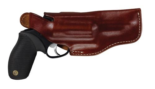 Triple K Lightning Holster for Taurus Judge with 2.5-Inch Cylinder with 3-Inch Barrel, Walnut Oil, Right, Model:440-106-3