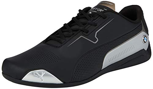PUMA BMW MMS Drift Cat 8, Zapatillas Unisex Adulto, Negro (Puma Black/Puma Silver), 43 EU