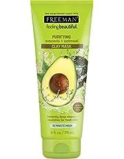 Freeman Feeling Beautiful Facial Clay Mask Avocado & Oatmeal 6 oz. (並行輸入品)