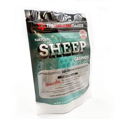 The Sausage Maker - Home Pack Natural Sheep Sausage Casings (1)