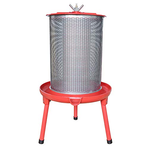 Hydraulic Fruit Wine Press - Electricity-Free/Water-powered Cider Wine Bladder Press, Natural Juice...