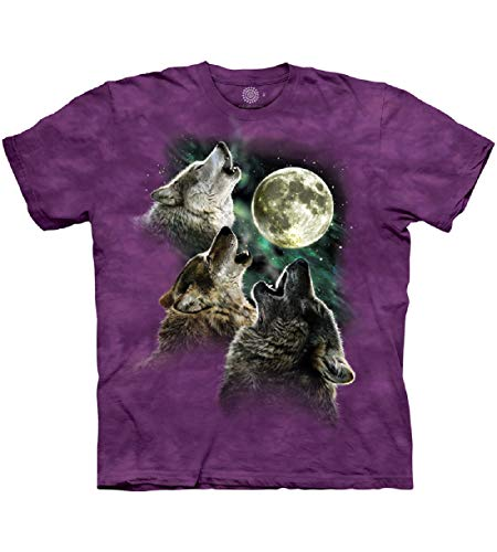 The Mountain Three Wolf Moon para mujer -  Morado -  Small