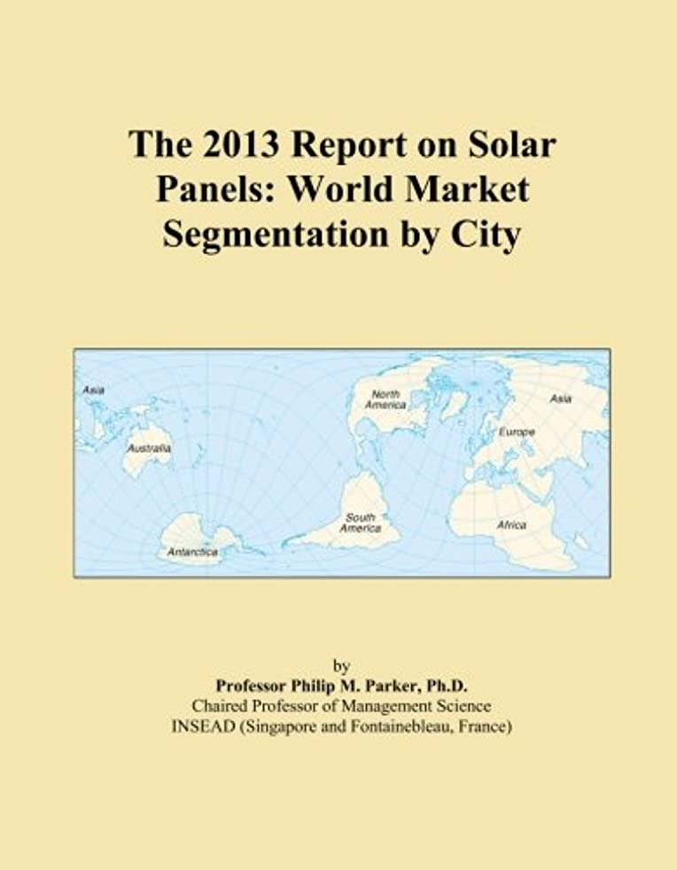 解明する純粋な拍車The 2013 Report on Solar Panels: World Market Segmentation by City