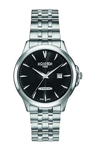 Roamer Herren-Armbanduhr WINDSOR Analog Quarz 705856 41 55 70