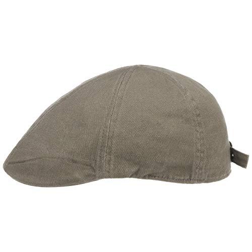 Hutshopping, Berretto Gatsby, berretto con visiera, cappello estivo con visiera oliva Taglia unica