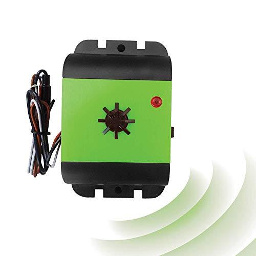 ISOTRONIC Repellente per martore   Dissuasore con batteria da 12 V   Senza veleno e sostanze chimiche   Protezione macchina contro martore a ultrasuoni (1)