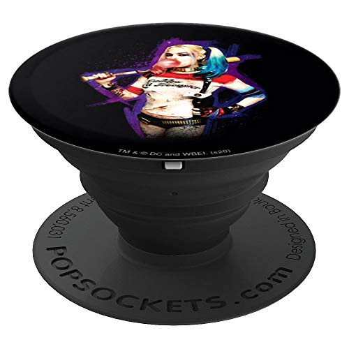Suicide Squad Harley Quinn Bubble PopSockets Grip and Stand for Phones and Tablets