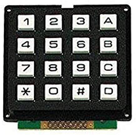 Velleman 16KEY Keypad 16 Keys Matrix Output