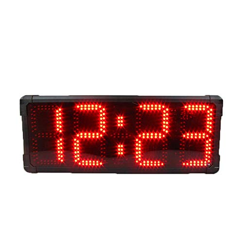WyaengHai Countdown-Uhr Countdown-Multifunktions-USB-Timer for die Wandmontage Große Digitale Stoppuhr und Fernbedienung for das Fitnessstudio Geeignet für Fitness-Studio Fitness