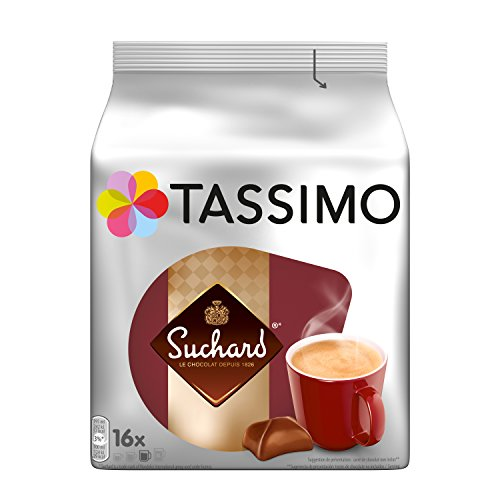 Tassimo Chocolat Dosettes -80 boissons Suchard (lot de 5 x 16 boissons)