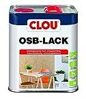Clou OSB Lack: Seidenglänzender Holzlack zur Versiegelung von OSB-Platten, farbloser Parkettlack,...