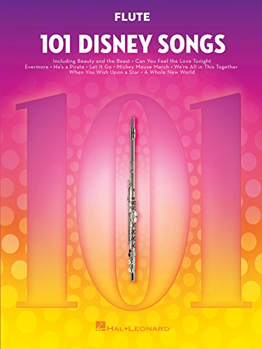 101 Disney Songs: for Flute (English Edition)