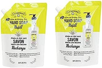 Best jr watkins aloe and green tea hand soap refill Reviews