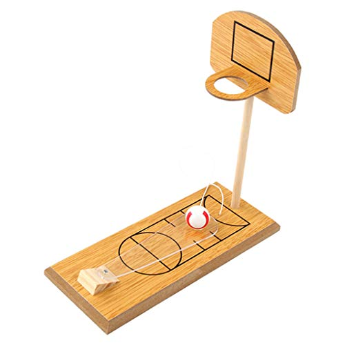 koolsoo Juguetes Deportivos Divertidos de Tiro de Baloncesto en Miniatura Clásico de Novedad Creativa