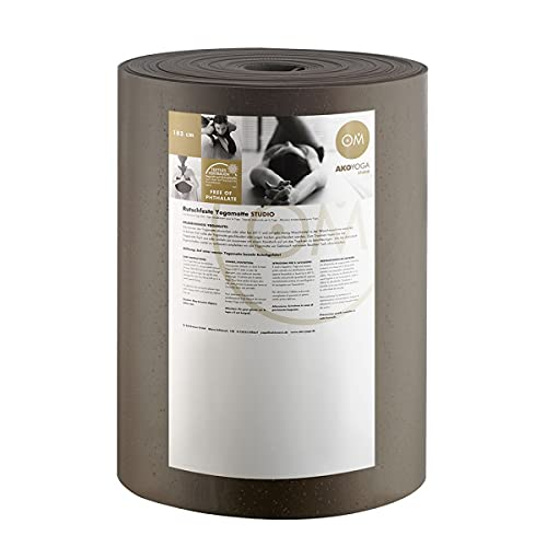 Rollo de Big Premium 30 M x 80 cm x 0.45 cm, ruedas de 30 M x 80 cm x 0 Producto, 45 cm lavable a máquina hasta 60° C Material: PVC Gris gris Talla:talla única