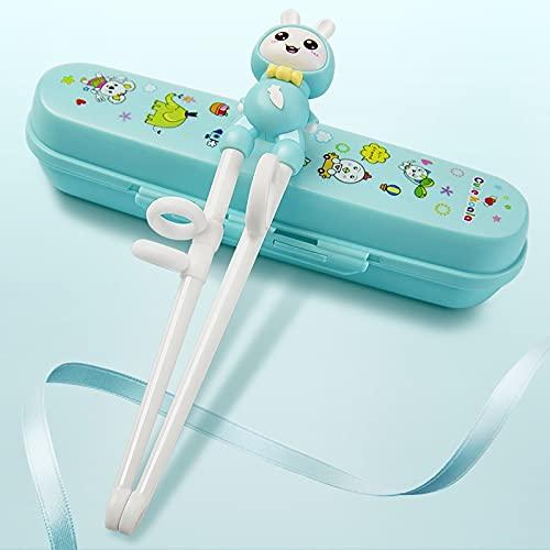 BYJXXBBE Principiante Palillos Especiales para niños Entrenamiento Antideslizante para niños Humanos Holding Chopsticks Correcto Artefactos A 2 de 234 años de Edad 6 aprendiendo Palillos