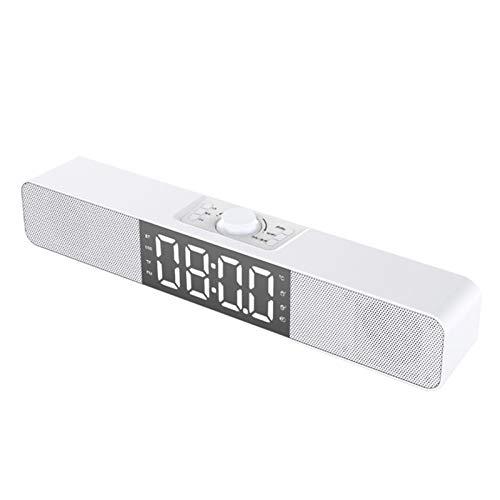 HSART Radio Reloj Despertador Digital, Alarma Dual con...