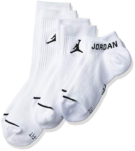 Nike U J Everyday MAX WF 3PR Socks, White, L
