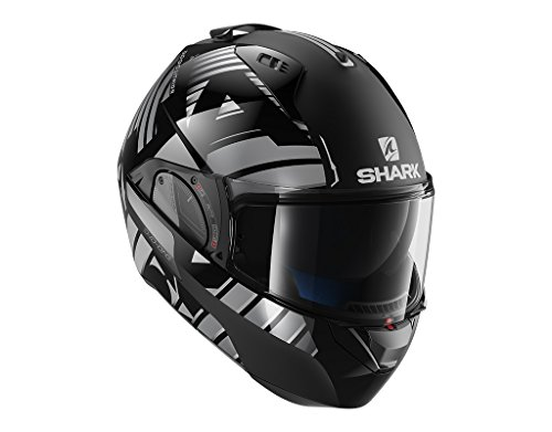 Preisvergleich Produktbild Shark Motorradhelm EVO-ONE 2 LITHION DUAL KUA,  Schwarz / Grau,  XL