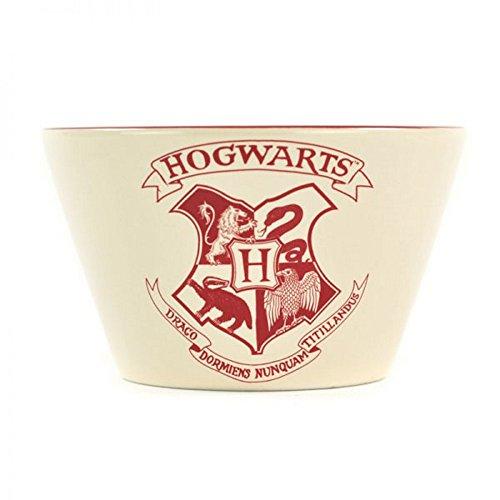 Harry Potter - keramische mueslikom mueslischaal - Hogwarts - logo