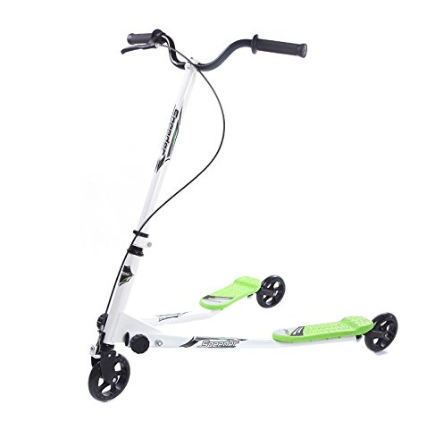 Nukana Erwachsene 3 Rad Tri Slider Scooter