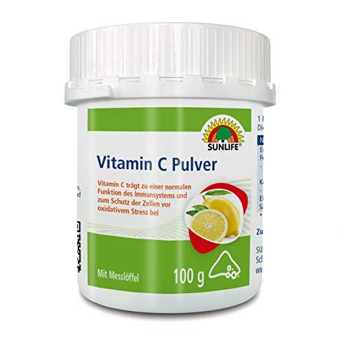 SUNLIFE Vitamin C Pulver, 100 g, 1160