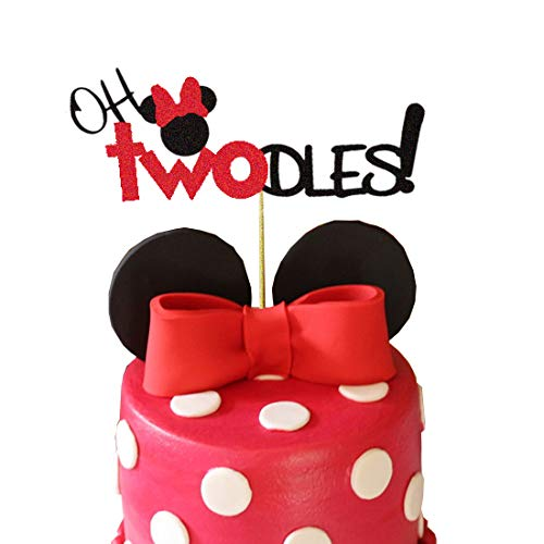 Minnie Mouse Second Birthday Cake Topper Buy Online In India At Desertcart