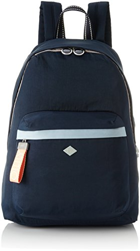 Oilily Damen Groovy Backpack Lvz Rucksackhandtasche, Blau (Dark Blue), 15x40x28 cm