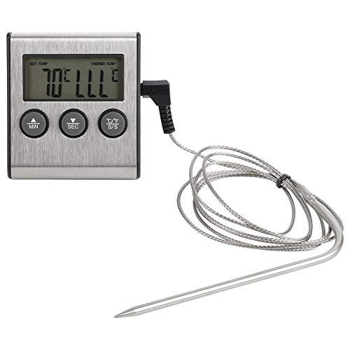 VIFERR Digital-Grill BBQ Thermometer Timer Kochen, Speisen, Fleisch Probe Temparature Tester