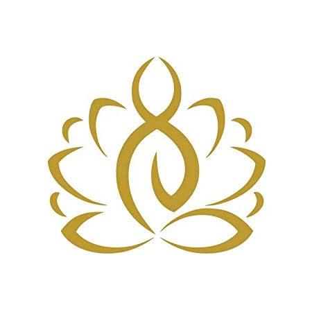 Lotus Flower Sticker Vinyl Bumper Sticker Decal Waterproof 5 Sat Nam Kundalini Chakra Kundalini Yoga