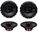 4 New Rockford Fosgate R165X3 6.5' 180W 3 Way Car Audio Coaxial...