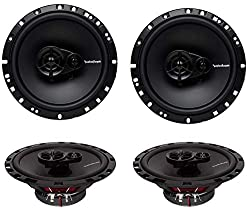4 New Rockford Fosgate R165X3 6.5 inc