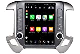 LINKSWELL GEN IV Android Radio Replacement Head Unit Fits for Silverado and Sierra 2014 to 2019 Car Stereo 4GB +64GB Unimeauto Navigation 12.1 Inch Touchscreen with WiFi/BT TS-GMPU12-1RR-4A
