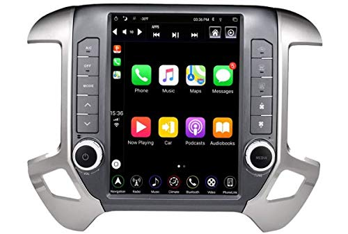 LINKSWELL GEN IV Android Radio Replacement Head Unit Fits for Silverado and Sierra 2014 to 2019 Car Stereo 4GB +64GB Navigation 12.1 Inch Touchscreen with WiFi/BT TS-GMPU12-1RR-4A