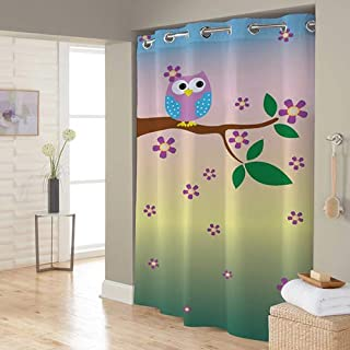 Right Canvas Multi Color 180cm x 200cm Shower Curtain - RG138NPIC00070