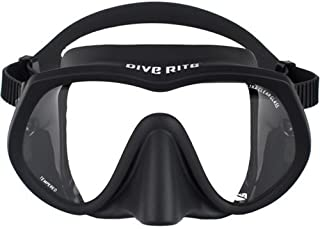 Dive Rite UltraClear Frameless Mask, Black
