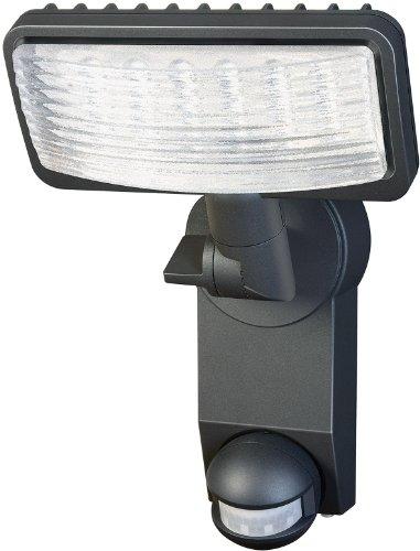 Brennenstuhl LED-Strahler Premium City / LED-Leuchte für außen und innen mit Bewegungsmelder (IP44, drehbar, 18 Watt, 6400 K) Farbe: anthrazit