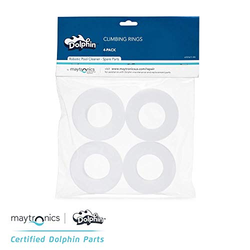 Best Buy! DOLPHIN Parts- Climbing Rings (4 Pack), Maytronics Part Number: 6101611-R4