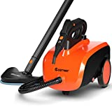 COSTWAY Multipurpose Steam Cleaner with 18 Accessories, Heavy Duty Household Steamer Chemical-Free Cleaning,...